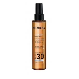 Filorga uv-bronze aceite solar corporal antiedad spf 30 150 ml
