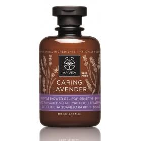 Apivita caring lavender gel de baño con lavanda 300ml