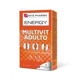 Forté Pharma Energy Multivit adulto equilibrio energético 28 comprimidos