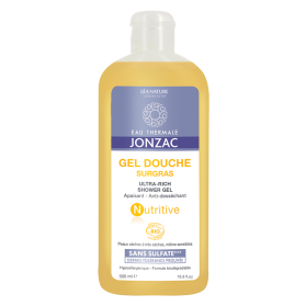 Jonzac Nutritive gel de baño suave ultra rico 500 ml