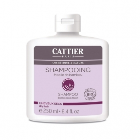 Cattier champú Bambú para cabello seco 250 ml CAT021