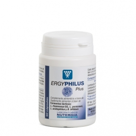 Nutergia Ergyphilus Plus probiótico 60 cápsulas
