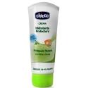 Chicco repelente de insectos infantil crema hidratante y protectora  100 ml