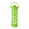 Lifefactory botella 475 ml axis straw cap lime