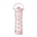 Lifefactory botella 475 ml axis straw cap cherry blossom
