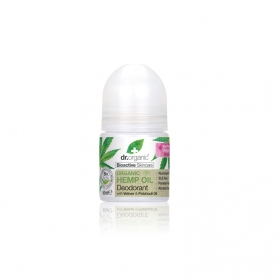Dr.Organic Hemp Oil desodorante suave de cáñamo 50ML
