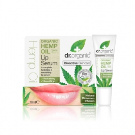 Dr Organic Hemp Oil sérum labial de cáñamo 10 ml