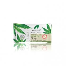 Dr Organic Hemp Oil jabón sólido de cáñamo 100 gr
