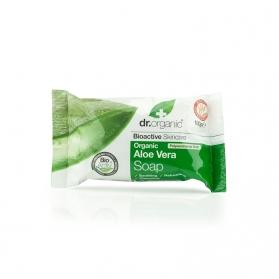 Dr Organic Aloe Vera jabón sólido 100 gr