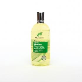Dr Organic Aloe Vera champú de uso frecuente 265 ml