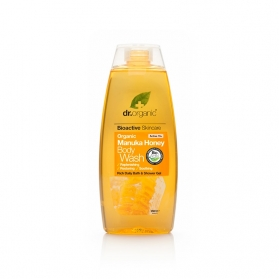 Dr Organic Manuka Honey gel de baño corporal 250 ml