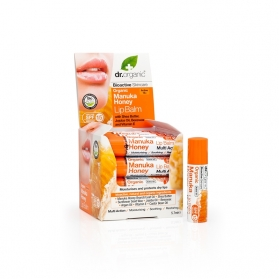 Dr Organic Manuka Honey bálsamo labial nutritivo 5,7 ml