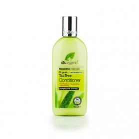Dr Organic Tea Tree acondicionador para cabello graso con árbol del té 265 ml