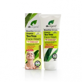 Dr Organic Tea Tree gel...