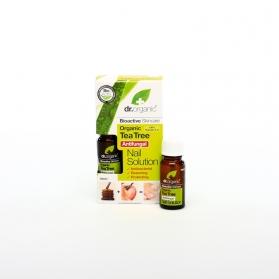 Dr Organic Tea Tree solución para uñas con árbol del té 10 ml