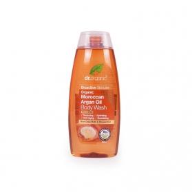 Dr Organic Moroccan Argan Oil gel de baño corporal tonificante 250 ml