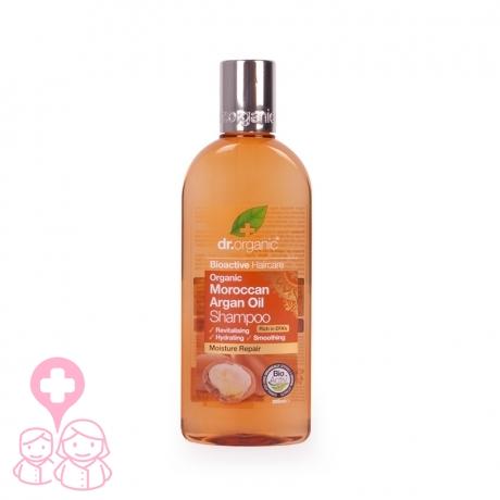 Dr Organic Moroccan Argan Oil champú hidratante 265 ml