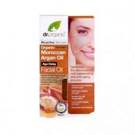 Dr Organic Moroccan Argan Oil aceite facial nutritivo 30 ml
