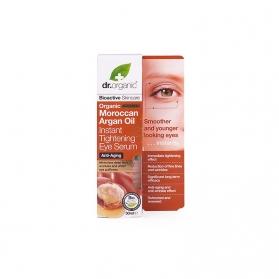 Dr Organic Moroccan Argan Oil sérum tensor para ojos 30 ml
