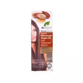 Dr Organic Moroccan Argan Oil sérum tratante para cabello seco 100 ml