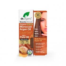 Dr.Organic Moroccan Argan Oil aceite puro de argán 50ML