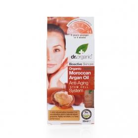 Dr.Organic Moroccan Argan Oil tratamiento antiedad global con células madre 30ML