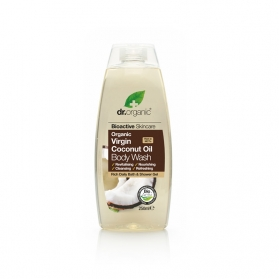 Dr Organic Virgin Coconut Oil gel de baño corporal regenerador 250 ml