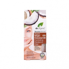 Dr Organic Virgin Coconut Oil elixir de hidratación intensa 30 ml