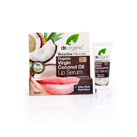 Dr Organic Virgin Coconut Oil sérum hidratante para labios 10 ml