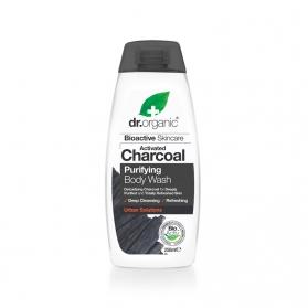 Dr Organic Activated Charcoal gel de baño 250 ml