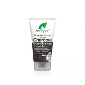 Dr Organic Activated Charcoal mascarilla facial 125 ml