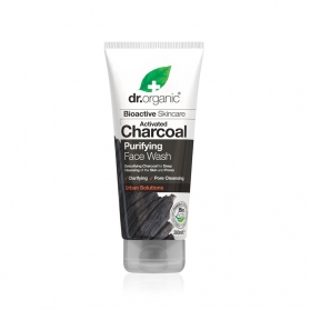 Dr Organic Activated Charcoal limpiador facial 200 ml