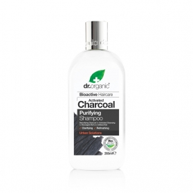 Dr Organic Activated Charcoal champú 265 ml