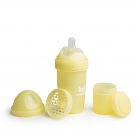Herobility biberón amarillo pastel 240ml