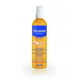Mustela pack leche solar spf50+ 300ml + spray post solar 125ml