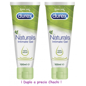 Durex duplo  naturals intimate gel 2x100 ml