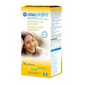 Farmaconfort tampón Regular de algodón ecológico 14uds