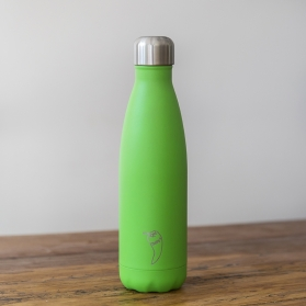 Chilly´s termo acero inoxidable verde neon 500ml