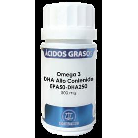 Equisalud omega 3 dha alto contenido epa50 - dha250 60 cápsulas