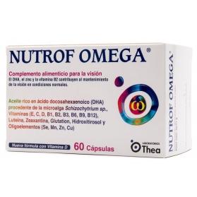 Nutrof Omega 60 cápsulas con DHA y Vitaminas