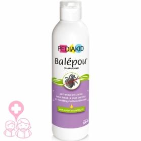 PediaKid Balepou champú para piojos con aceites esenciales 200 ml