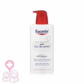 Eucerin pH5 gel de baño suave 1000 ml