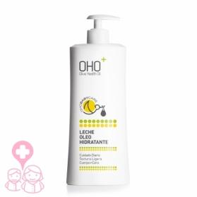 OHO Baby Care leche corporal Oleohidratante 500 ml con Pantenol y Karité