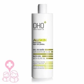 OHO AllSkin gel de baño calmante con Aceite de Oliva 750 ml