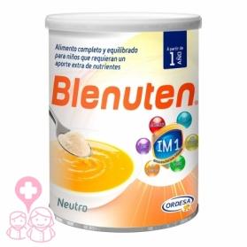 Blenuten Neutro aporte extra Calcio, Hierro, Zinc y vitaminas 400 gr