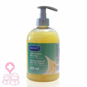 Alvita jabón de manos con Miel y Yogur 500ml