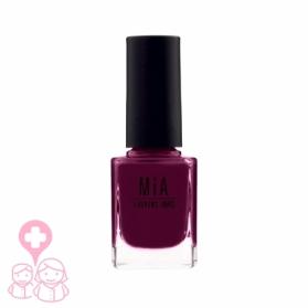 Mia Cosmetics Burgundy esmalte fórmula 9-free gran cobertura 11 ml