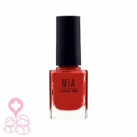Mia Cosmetics Orange Clay esmalte fórmula 9-free gran cobertura 11 ml