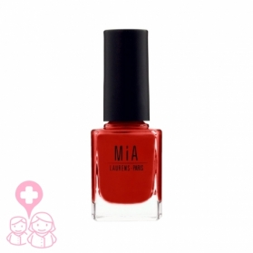 Mia Cosmetics Poppy Red esmalte fórmula 9-free gran cobertura 11 ml