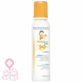 Bioderma Photoderm Kid SPF 50+ Mousse corporal infantil 150 ml